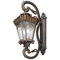 Kichler 9360LD Tournai 4 Light 46 inch Londonderry Outdoor Wall Lantern