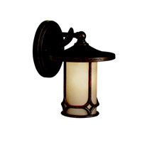 Kichler Lighting Chicago 1 Light Outdoor Wall Lantern in Aged Bronze 9364AGZ photo thumbnail