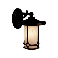 Kichler Lighting Chicago 1 Light Outdoor Wall Lantern in Aged Bronze 9365AGZ