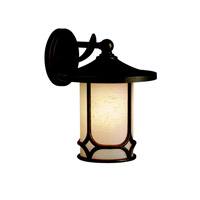 Kichler Lighting Chicago 1 Light Outdoor Wall Lantern in Aged Bronze 9366AGZ