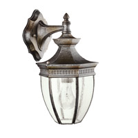 Kichler 9368TZ Warrington 1 Light 13 inch Tannery Bronze Outdoor Wall Lantern