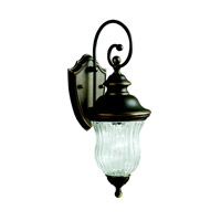 Kichler 9412OZ Sausalito 1 Light 20 inch Olde Bronze Outdoor Wall Lantern photo thumbnail