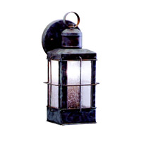 Kichler Lighting Concord 1 Light Outdoor Wall Lantern in Olde Brick 9477OB photo thumbnail