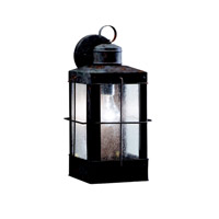Kichler Lighting Concord 1 Light Outdoor Wall Lantern in Olde Brick 9479OB photo thumbnail