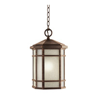 Kichler 9511PR Cameron 1 Light 10 inch Prairie Rock Outdoor Pendant