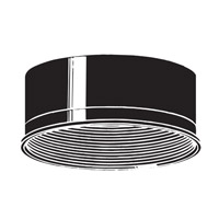 Kichler 9546BK Baffle Black Outdoor Accessory