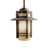 Kichler Lighting Creston 1 Light Outdoor Pendant in Aged Bronze 9556AGZ photo thumbnail