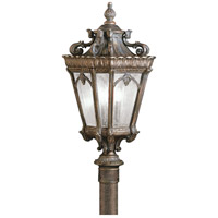 Tournai 3 Light 27 inch Londonderry Outdoor Post Lantern