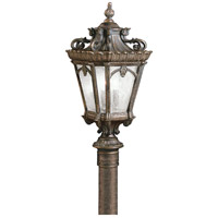 Tournai 4 Light 30 inch Londonderry Outdoor Post Lantern