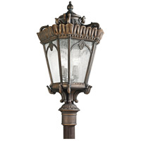 Kichler Lighting Tournai 4 Light Outdoor Post Lantern in Londonderry 9565LD