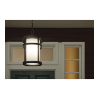 Kichler Lighting Lantana 1 Light Outdoor Pendant in Textured Granite 9567GNT alternative photo thumbnail
