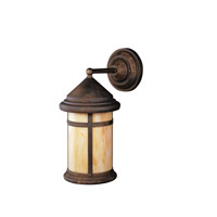 Kichler Lighting Tularosa 1 Light Outdoor Wall Lantern in Canyon View 9645CV photo thumbnail