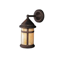 Kichler Lighting Tularosa 1 Light Outdoor Wall Lantern in Canyon View 9646CV