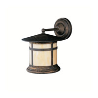 Kichler Lighting Tularosa 1 Light Outdoor Wall Lantern in Canyon View 9647CV photo thumbnail