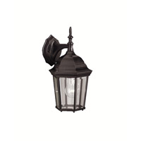 Madison 1 Light 13 inch Black Outdoor Wall Lantern