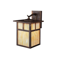 Kichler 9652CV Alameda 1 Light 14 inch Canyon View Outdoor Wall Lantern photo thumbnail