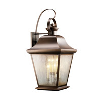 Kichler 9703OZ Mount Vernon 6 Light 33 inch Olde Bronze Outdoor Wall Lantern