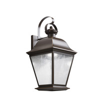 Kichler 9709OZLED Mount Vernon LED 20 inch Olde Bronze Outdoor Wall - Medium