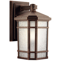 Kichler 9718PR Cameron 1 Light 11 inch Prairie Rock Outdoor Wall Lantern