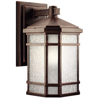 Kichler 9719PR Cameron 1 Light 14 inch Prairie Rock Outdoor Wall Lantern