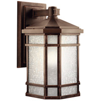 Kichler 9720PR Cameron 1 Light 18 inch Prairie Rock Outdoor Wall Lantern photo thumbnail