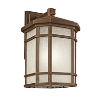 Kichler 9721PR Cameron 1 Light 21 inch Prairie Rock Outdoor Wall Lantern