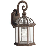 Kichler Lighting Barrie 1 Light Outdoor Wall Lantern in Tannery Bronze 9735TZ
