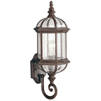 Kichler 9736TZ Barrie 1 Light 22 inch Tannery Bronze Outdoor Wall Lantern