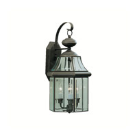 Kichler Lighting Embassy Row 3 Light Outdoor Wall Lantern in Olde Bronze 9785OZ