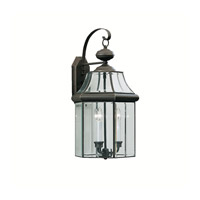 Kichler Lighting Embassy Row 3 Light Outdoor Wall Lantern in Olde Bronze 9786OZ