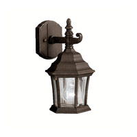 Townhouse 1 Light 12 inch Tannery Bronze Outdoor Wall Lantern