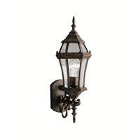 Kichler Lighting Townhouse 1 Light Outdoor Wall Lantern in Tannery Bronze 9790TZ