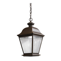 Kichler Mount Vernon LED Outdoor Hanging Pendant in Olde Bronze 9809OZLED