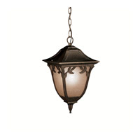Kichler Lighting Lynnewood Gardens 1 Light Outdoor Pendant in Legacy Bronze 9815LZ photo thumbnail