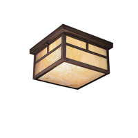 La Mesa 2 Light 12 inch Canyon View Outdoor Flush Mount