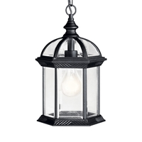 Kichler 9835BKL18 Barrie LED 8 inch Black Pendant Ceiling Light