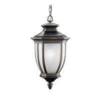 Kichler 9843RZ Salisbury 1 Light 12 inch Rubbed Bronze Outdoor Pendant