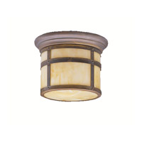 Kichler Lighting Tularosa 1 Light Outdoor Flush Mount in Canyon View 9845CV photo thumbnail