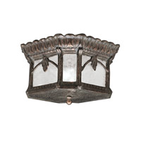 Tournai 2 Light 12 inch Londonderry Outdoor Flush Mount