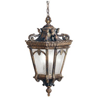 Kichler 9855LD Tournai 3 Light 12 inch Londonderry Outdoor Pendant