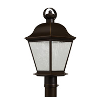Kichler Mount Vernon LED Outdoor Post Lantern in Olde Bronze 9909OZLED