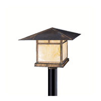 Kichler Lighting La Mesa 1 Light Outdoor Post Lantern in Canyon View 9926CV