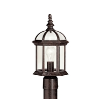 Kichler 9935TZL18 Barrie LED 16 inch Tannery Bronze Post Mount