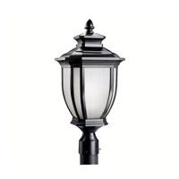 Kichler 9938BK Salisbury 1 Light 22 inch Black Outdoor Post Lantern