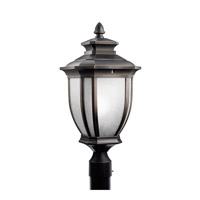 Kichler Lighting Salisbury 1 Light Outdoor Post Lantern in Rubbed Bronze 9938RZ photo thumbnail