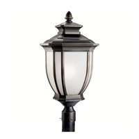 Kichler 9940RZ Salisbury 1 Light 26 inch Rubbed Bronze Outdoor Post Lantern photo thumbnail