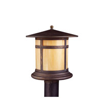 Kichler Lighting Tularosa 1 Light Outdoor Post Lantern in Canyon View 9945CV photo thumbnail