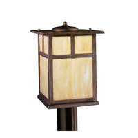 Kichler 9953CV Alameda 1 Light 12 inch Canyon View Outdoor Post Lantern photo thumbnail