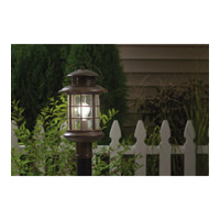 Kichler Lighting Rustic 1 Light Outdoor Post Lantern in Rustic 9962RST