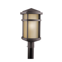 Kichler Lighting Lantana 1 Light Outdoor Post Lantern in Architectural Bronze 9967AZ photo thumbnail